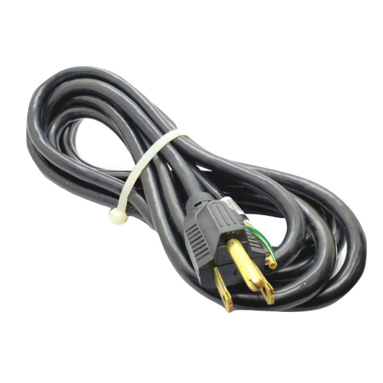 details about 18 3 sjt 3 prong black replacement power cord 12ft dishwasher wiring monoprice 3 prong power cord 3 feet